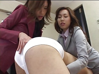 Japanese office lass shares..