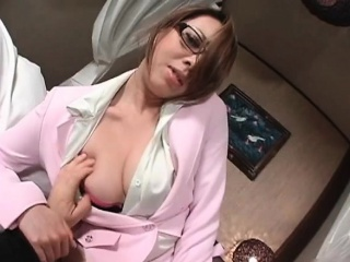 Gorgeous asian milf takes..