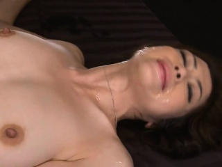 Horny asian wench surounds..