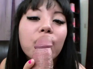 Asian Teen Gets a Beefy Load..