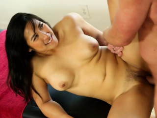 Sexy masseuse gives happy..
