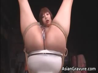 Cute asian babe involving..