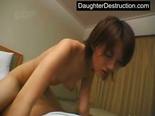 Young japanese teen wide..