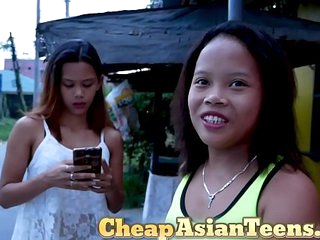 Asian Teen Pimped by Her..