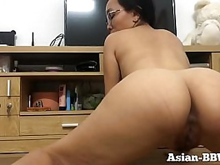Asian Mom with Perfect Body..