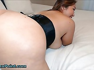 Huge Asian Booty For One..