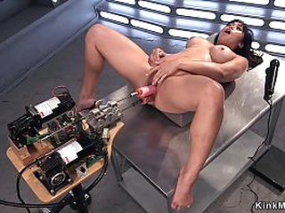 Dark haired Asian solo..