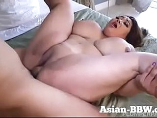 Fat Asian MILF with Enormous..