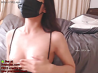 Korean camgirl with super..
